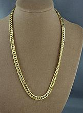 18ct yellow gold chain approx 24.4 grams and 42 cm