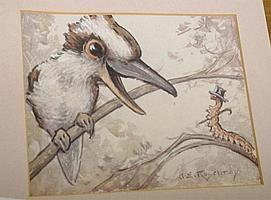 A. Erlington Rosebray, Australia, Pastel