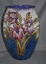 Royal Doulton stoneware Eliza Simmons vase with