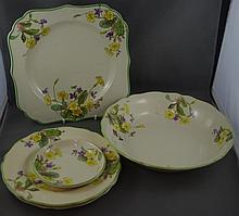Five pieces Royal Doulton