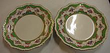 Pair Ashworths ironstone soup plates