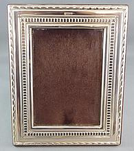 English sterling silver photo frame can be