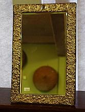 Large Victorian sterling silver toilet mirror