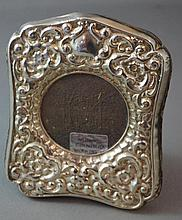 English sterling silver frame Hallmarked