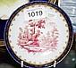 Antique hand painted dish Antique porcelain
