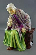Royal Worcester figure The Fortune Teller model