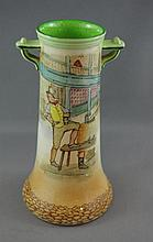 Royal Doulton Dickens Sam Weller vase 13 1/2cm