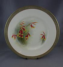 Royal Worcester Australian handpainted plate