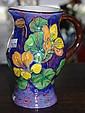 Royal Doulton Nasturtium jug hand painted, pattern