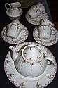 Wedgwood bone china tea set Pink Garland setting