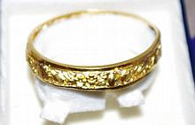 22ct yellow gold bangle valuation available. Total