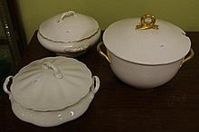 Rorstrand lidded tureen together with 2 other