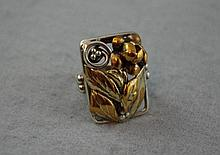 Interesting Arts and Craft ring