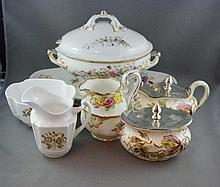Quantity of antique and vintage jugs and dishes