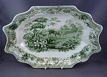Spode Aesop's Fables antique bowl