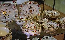 Royal Crown Derby 'Imari' dinner set comprising of