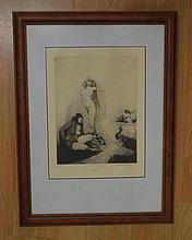 Norman Lindsay (1879-1969), facsimile etching