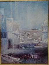 Sid Nolan (1917-1992) signed print