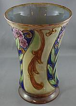 Good Royal Doulton circular tapered vase with