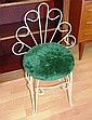 Vintage wire work boudoir chair 80cm high