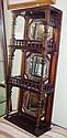 Edwardian Sheraton Revival hanging cabinet 3