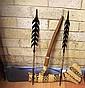 PNG ceremonial axe & 2 arrows