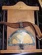 Military map reading holder
