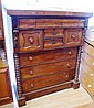 Victorian mahogany chest of drawers cedar lined
