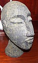Good pottery stoneware bust 26cm height