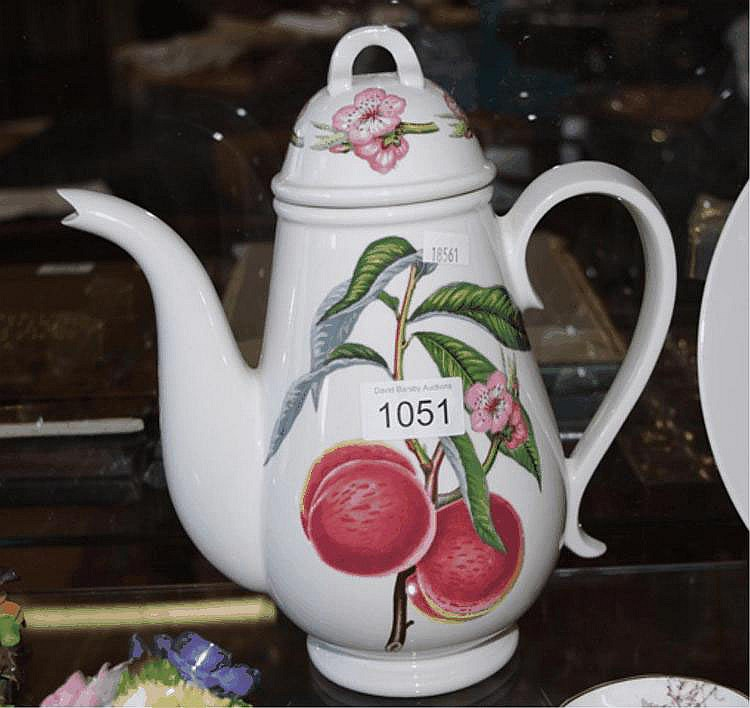 Large Portmerion Coffee Pot