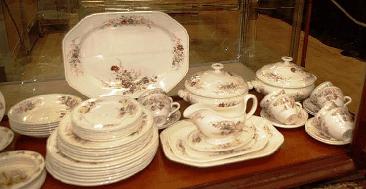 Vintage Copeland Spode dinner set comprising of 3