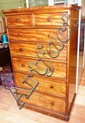 Victorian mahogany chest of drawers with 7 drawers