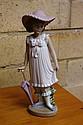Nao standing girl figure 18.5cm high