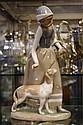 Nao figure girl with dog