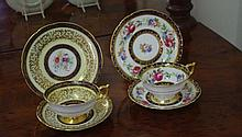 Two vintage Paragon cup, saucer & plate sets with