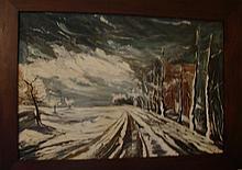 Curd, oil on canvas 53 x 79cm