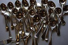 Large quantity of various flatware including