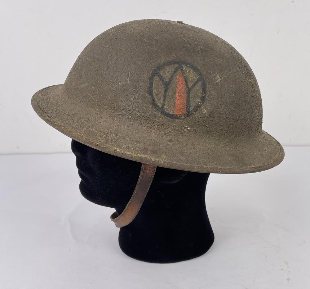 WW1 89TH DIVISION HELMET DOUGHBOY
