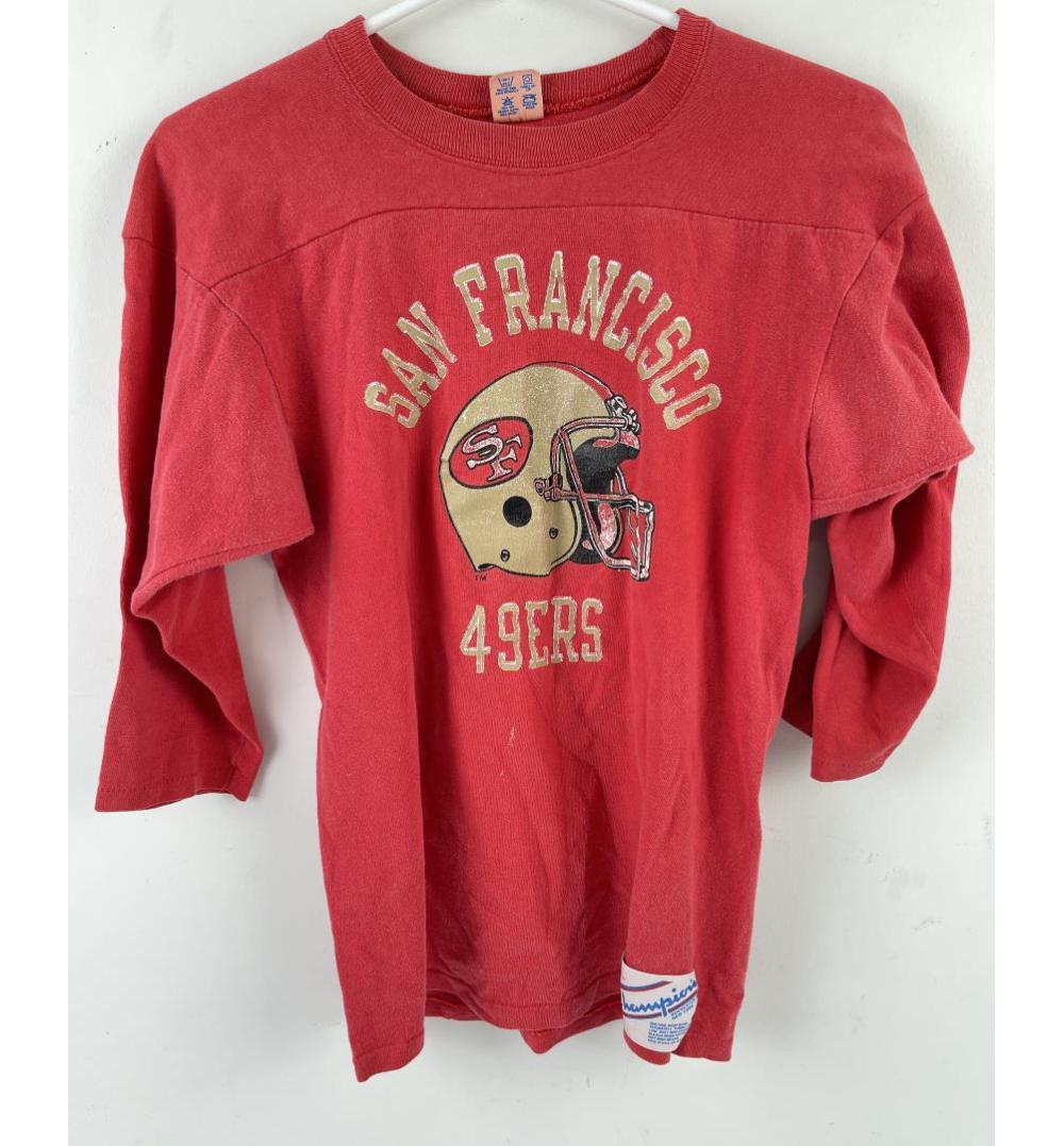 VINTAGE CHAMPION SAN FRANCISCO 49ERS NFL T SHIRT