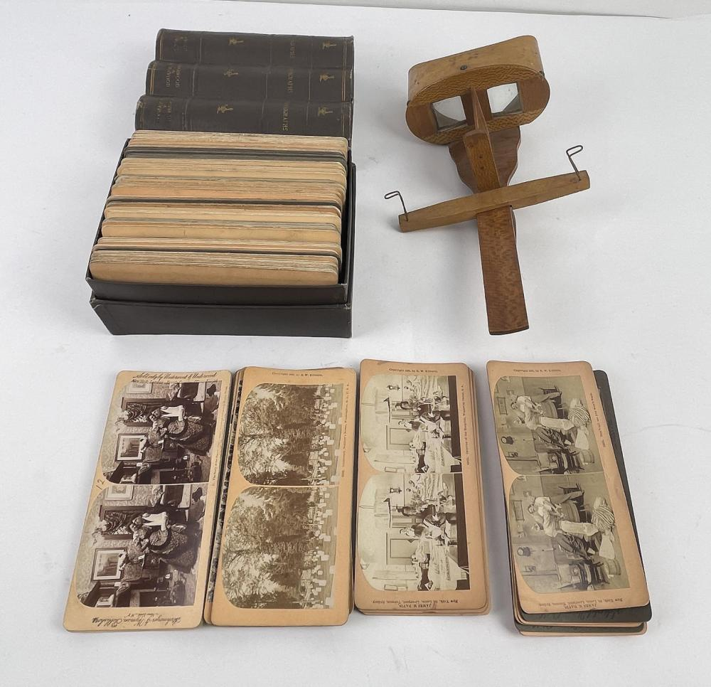 LARGE GROUPING OF STEREOVIEW CARDS