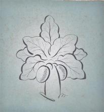 A small mid 20th century flower print
