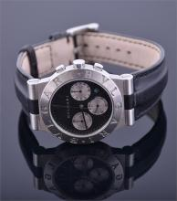 A Bulgari stainless steel wrist watch