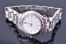 A Gucci stainless steel quartz wrist watch