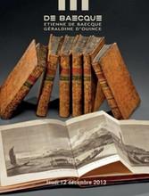 BAUDELAIRE (Charles) - ACADÉMIE DE LYON. DISTRIBUTION SOLENNELLE DES PRIXAUX ÉLÈVES DU COLLÈGE ROYAL DE LYON 1835 - 1836. LYON, BOURSY, 1835 & LYON,BOITEL, 1836. Deux plaquettes reliées en un volume, in-4, de 33 et 34 pp., demi-reliure de l'époque