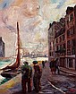 Fred PAILHES 1902-1991 - Le port du Havre, Fred Pailhes, Click for value