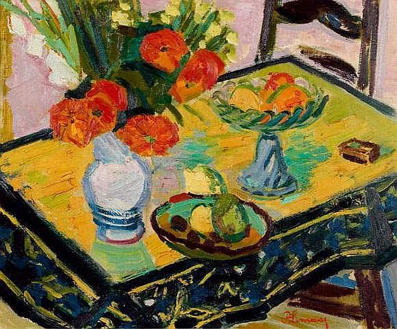 Roger LIMOUSE 1894-1990 - Nature morte aux fleurs