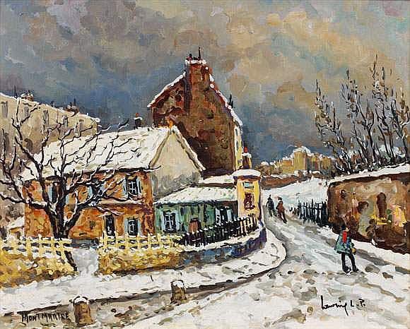 ROBERT L.P. LAVOINE 1916-1999 - Montmartre le