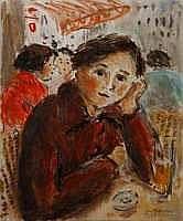 Jean-Jacques RENE né en 1943 - Terrasse