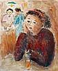 Jean-Jacques RENE né en 1943 - Soir au café, Jean Jacques René, Click for value