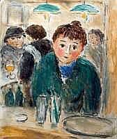 Jean-Jacques RENE né en 1943 - Le bar